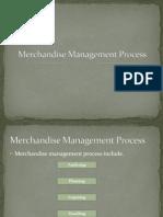 Merchandise Management Process