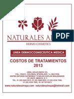 Costos de Tratamientos 2013