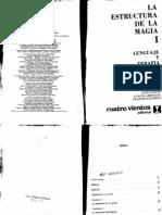 Richard Bandler y John Grinder - La Estructura de La Magia I