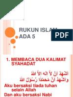 Rukun Islam Ada 5