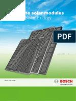 Bosch Solar Energy Kristalline Module En