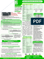 Solar Panel Brochure