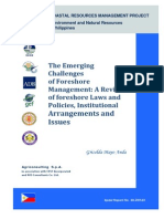 The Emerging Challenges of Foreshore Management