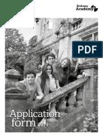 EmbassyCES Application 2014
