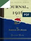 Journal_1916_Inst of Metals