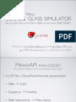 gyroFIRE Google Glass Simulator