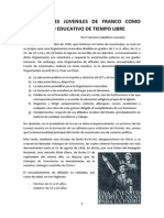 Las Falanges Juveniles de Franco Como Movimiento Educativo de Tiempo Libre (1)