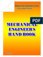 A Mechanical Engineer's Handbook by ONGC
