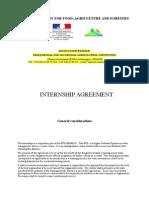 Internship Agreeement Frame Grassroots 2014
