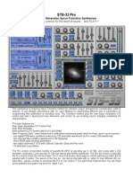 STS 33 Pro Manual
