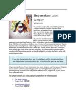 Essential Singomakers