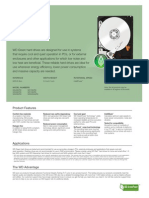 Drive Specification Sheet PDF