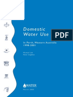 Loh & Coghlan. Domestic Water Use Study