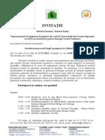 Invitatie Seminar Oradea