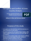 Corruption and Conflict