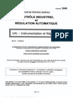 BTSCIRA Instrumentation Et Regulation 2008
