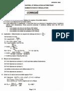 Corrige BTSCIRA Instrumentation-Et-regulation 2004