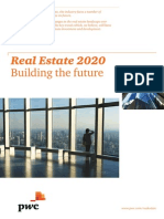 Pwc - Etude Real Estate 2020 - Building the Future