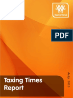 Bankwest Taxing Times Report 2013