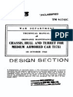TM 9-1741C Chassis, Hull and Turret for Medium Armored Car T17E1 1943