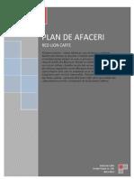 Plan de Afaceri Red Lion Caffe