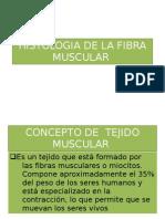 Histologia de La Fibra Muscular