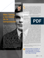 Alan Turing y los incios de la computación BIT 189
