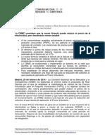 Informe CNMC