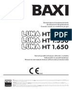 Manual Instalare Centrala Termica BAXI Luna HT 45-55-65 kW