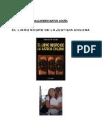 Alejandra Matus Acuña - El Libro Negro de La Justicia Chilena