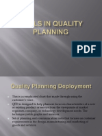 Tools in Quality Planning