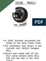 ACTIVE   WHEELS/ HUB MOTORS ASHWIN THOTTUMKARA FULL PPT