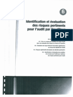 Audit-6 Identification Et Evaluation Des Risques Pertinents Pour l'Audit Par l'Auditeur