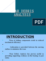 Wear Debris Analysis ASHWIN THOTTUMKARA FULL PPT