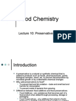 Lecture 10 Preservatives