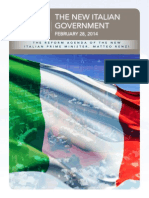 New Italian Government - A Political Analysis by APCO Worldwide