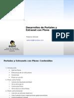 Desarrollos de Portales y Extranet con Plone