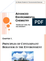 Advanced Environmental Chemistry 1