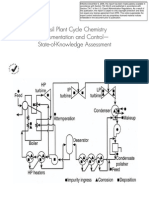 Fossil Plant Cycle Chemistry