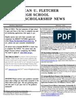 February 2014 Scholarship Newsletter