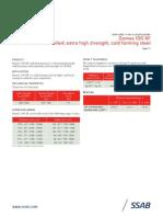 Domex 100 XF Data Sheet