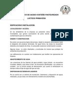 DIAGNOSTICO DE QUESO COSTEÑO PASTEURIZADO
