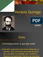 Horacio Quiroga - Estilo