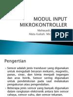 Mikro_pengenalan Jenis Sensor