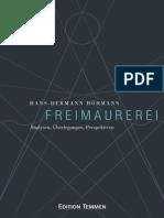 Hans-hermann Hoehmann - Freimaurerei