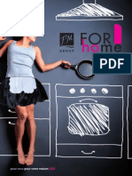 FM Group - Catalog for Home / Maison-Ménage