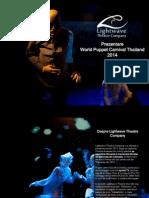 Prezentare - Lightwave Theatre Company (World Puppet Carnival Thailand)