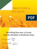 Uniform Flow & Doublet
