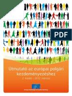 Európai Gazdasági és Szociális Bizottság Útmutató az európai polgári kezdeményezéshez