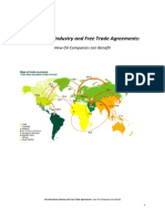 The Petroleum Industry and Free Trade Agreements